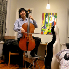 """Cello goes upright • <a style=""""font-size:0.8em;"""" href=""""http://www.flickr.com/photos/111317728@N08/14526964134/"""" target=""""_blank"""">View on Flickr</a>"""