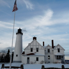 "Point Iroquois Lighthouse • <a style=""font-size:0.8em;"" href=""http://www.flickr.com/photos/111317728@N08/11681670623/"" target=""_blank"">View on Flickr</a>"