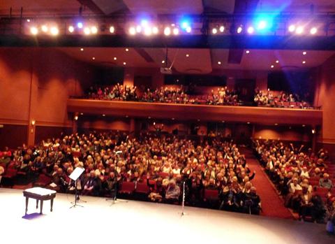 Sarnia Audience Small